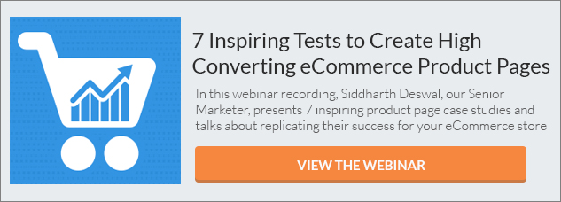 Seven Inspiring Tests tp Create High Converting eCommerce Product Pages CTA