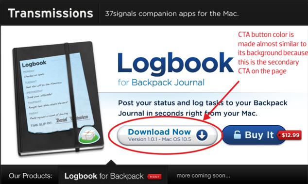 Logbook CTA Button