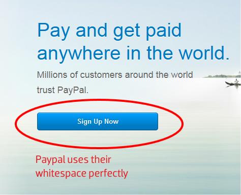Paypal CTA Button