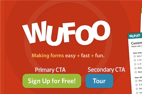 Wufoo CTA Button