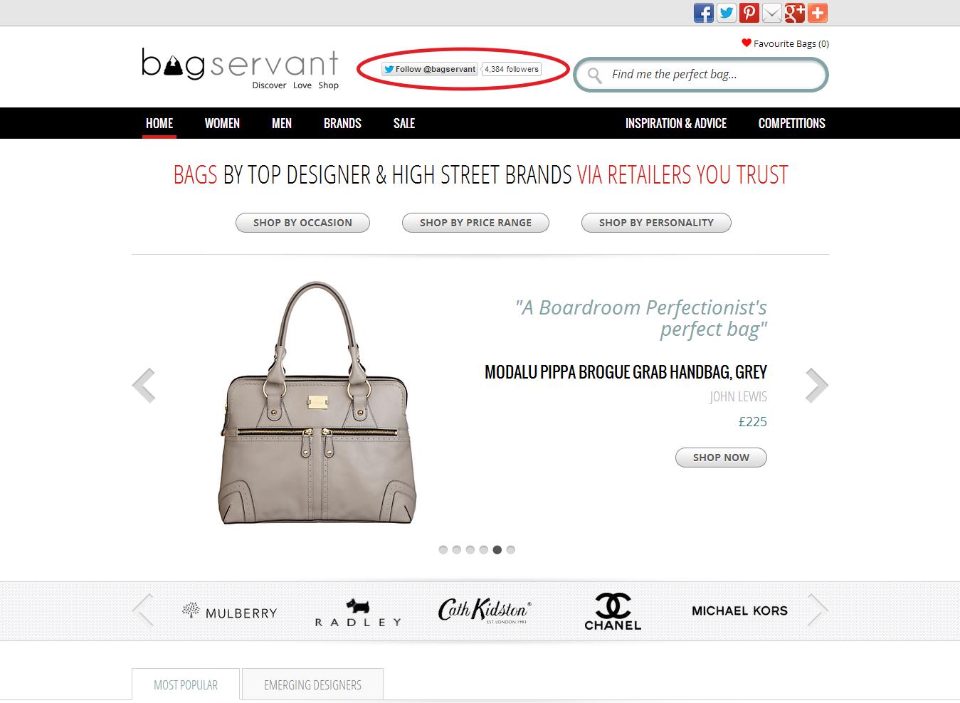 Bag Servant Control