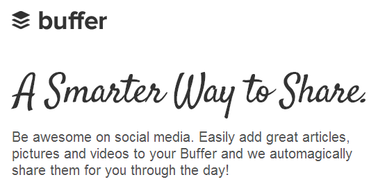 Buffer's Value Proposition
