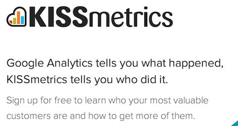Kissmetrics's Value Proposition