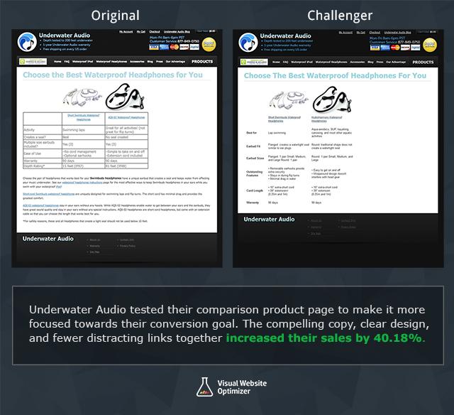 Underwater Audio Comparison Image