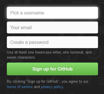 Highly picky password requirement by GitHub