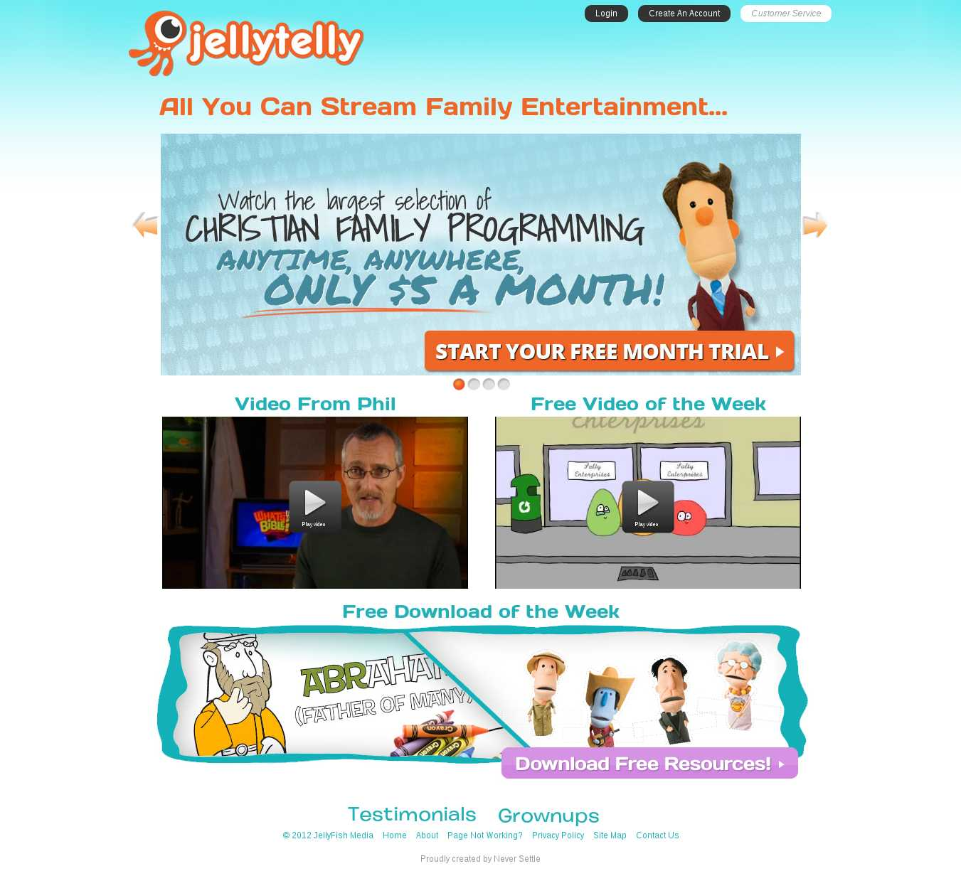 Jelly Telly Variation Page