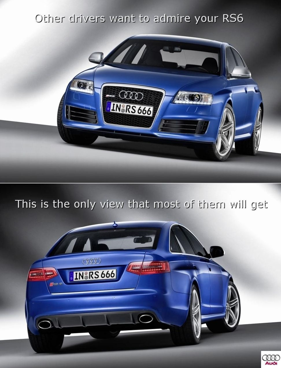 Audi ad is perfect for spendthrifts and unconflicted consumer types