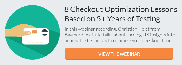 Checkout Optimization Lessons (Webinar) CTA