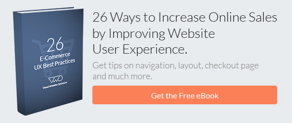 Increase Sales by Improving Website UX (eBook) CTA