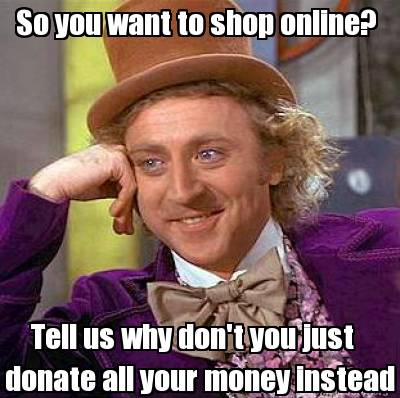 Fear of online shopping