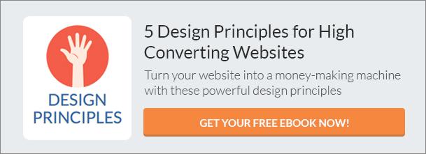 Design Principles for High Converting Websites (eBook) CTA
