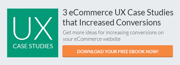 Three eCommerce UX Case Studies (eBook) CTA