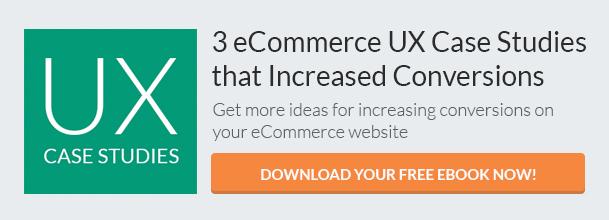 eCommerce UX Case Studies (eBook) CTA