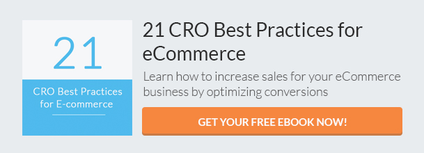 eCommerce CRO Best Practices (eBook) CTA