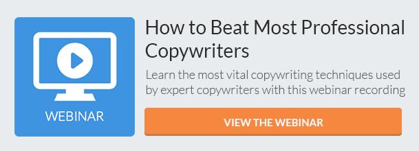 Copywiritng Tips (Webinar) CTA