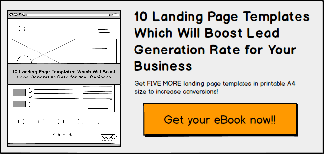 10 Landing Page Templates (eBook) CTA