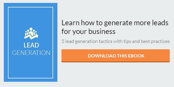 Lead Generation eBook CTA