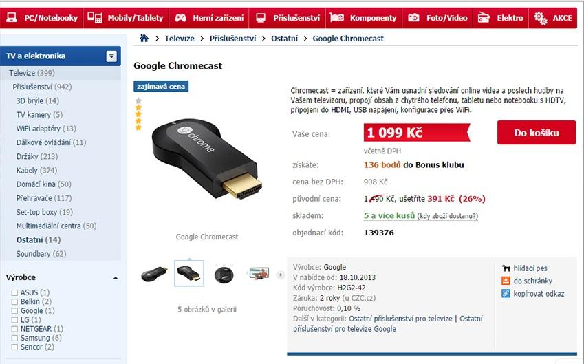 original product page czc.cz