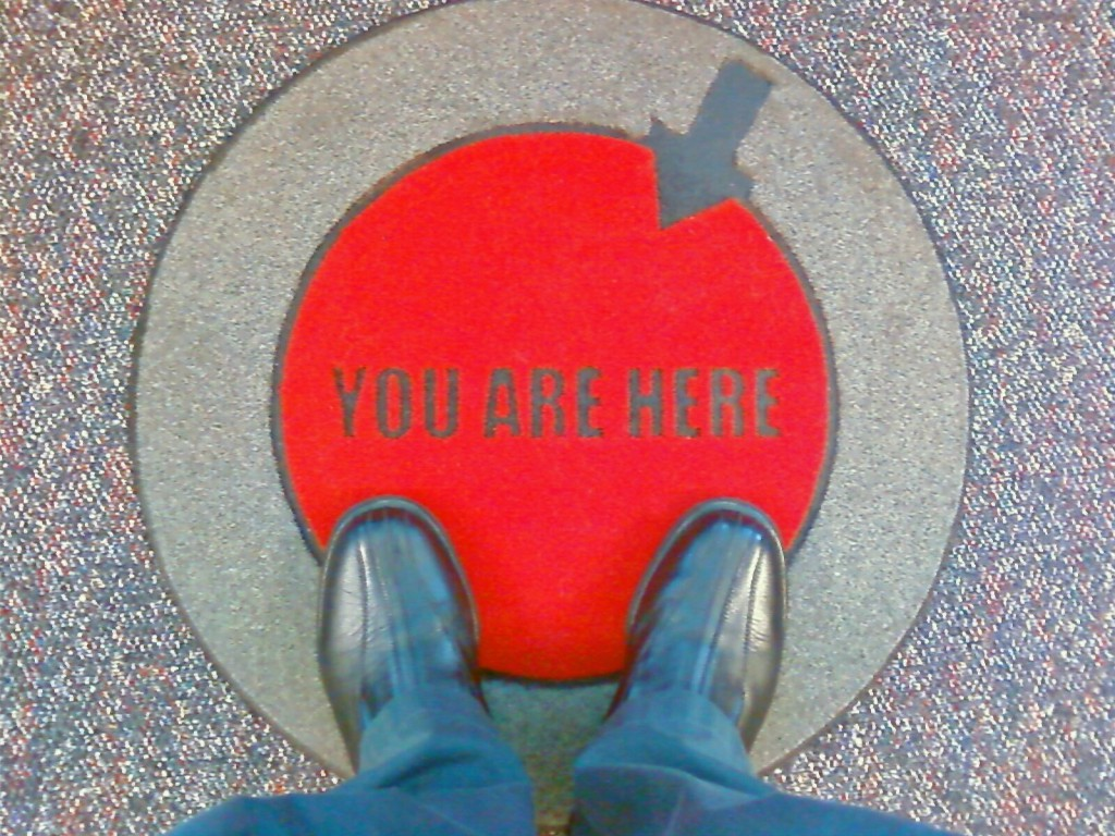 'You Are Here' Gives Orientation
