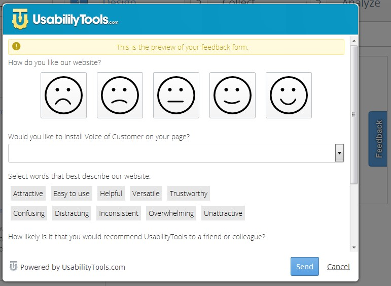 Review Widget and Smileys