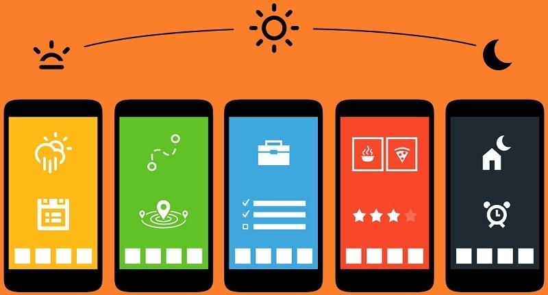 App personalization