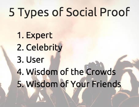 5 Types of Social Proof