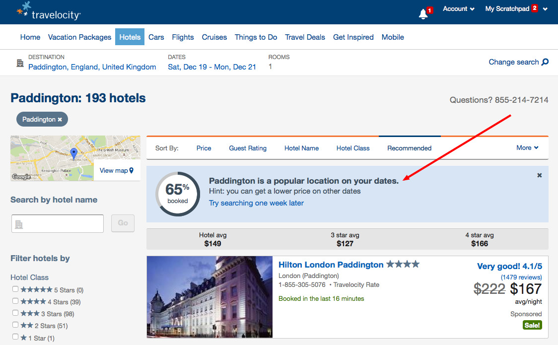Improving user experience on Travel website (CRO)