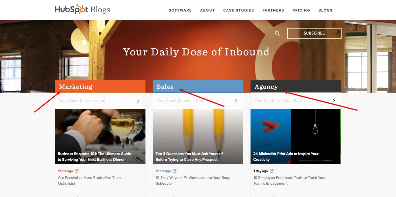 HubSpot Blog Content Personalization