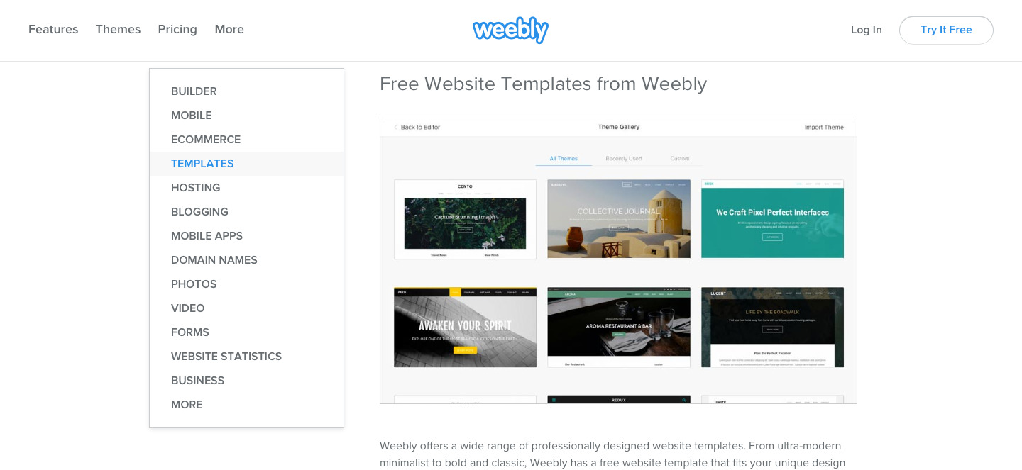 Weebly features page example (1)
