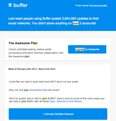 Lead Nurturing Campaign - Reengagement Email