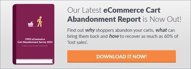 VWO Shopping Cart Abandonment Report
