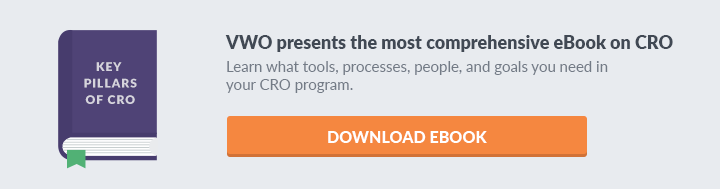 Key CRO Pillars eBOok Landing Page CTA